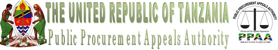 PUBLIC PROCUREMENT APPEALS AUTHORITY